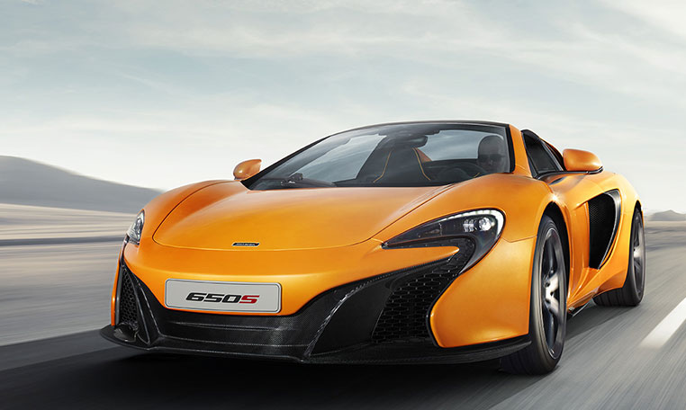 mclaren 650 s car rental in dubai