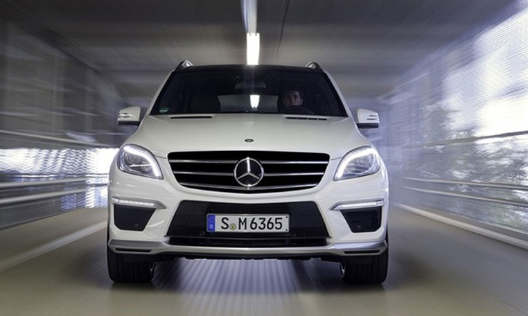 Mercedes ML63 AMG rental in dubai