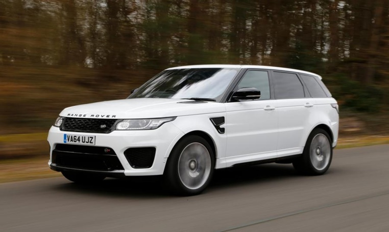 Range Rover Sports SVR rental in dubai