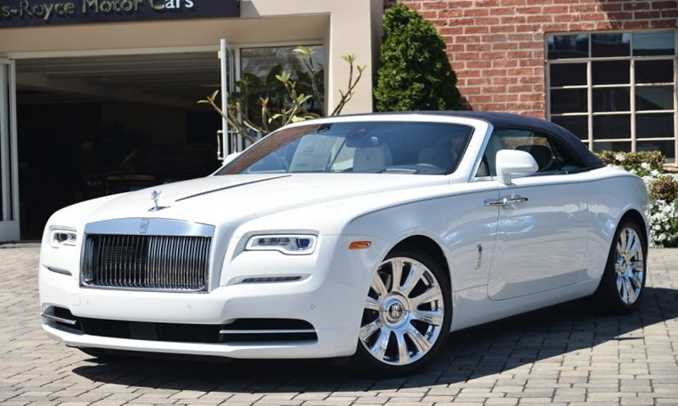Rolls Royce Dawn rental in dubai, Rolls Royce Dawn Rental in Abu Dhabi