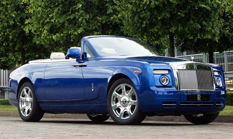Rolls Royce Drophead rental in dubai